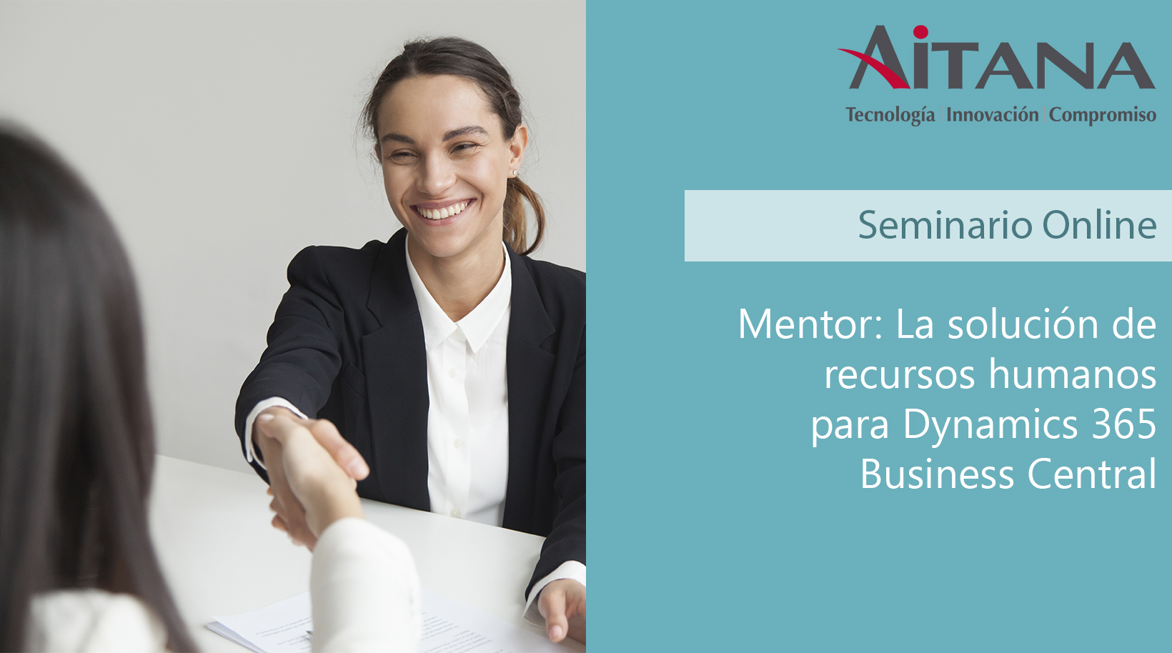 Webinar - Mentor para Dynamics 365 Business Central