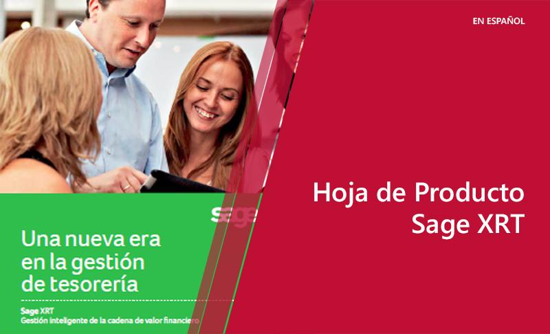 Hoja de Producto: Sage XRT (en español)