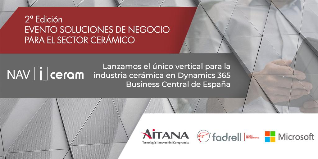 2ª Edición Evento Soluciones de negocio para el sector cerámico