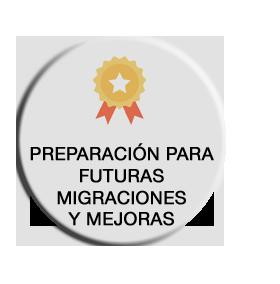 Preparación para futuras migraciones y mejoras