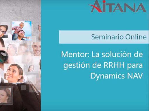 Mentor: La solución de gestión de RRHH para Dynamics NAV