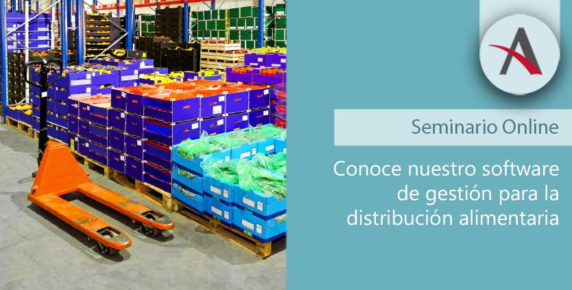 Conoce nuestro software de gestión para distribución alimentaria
