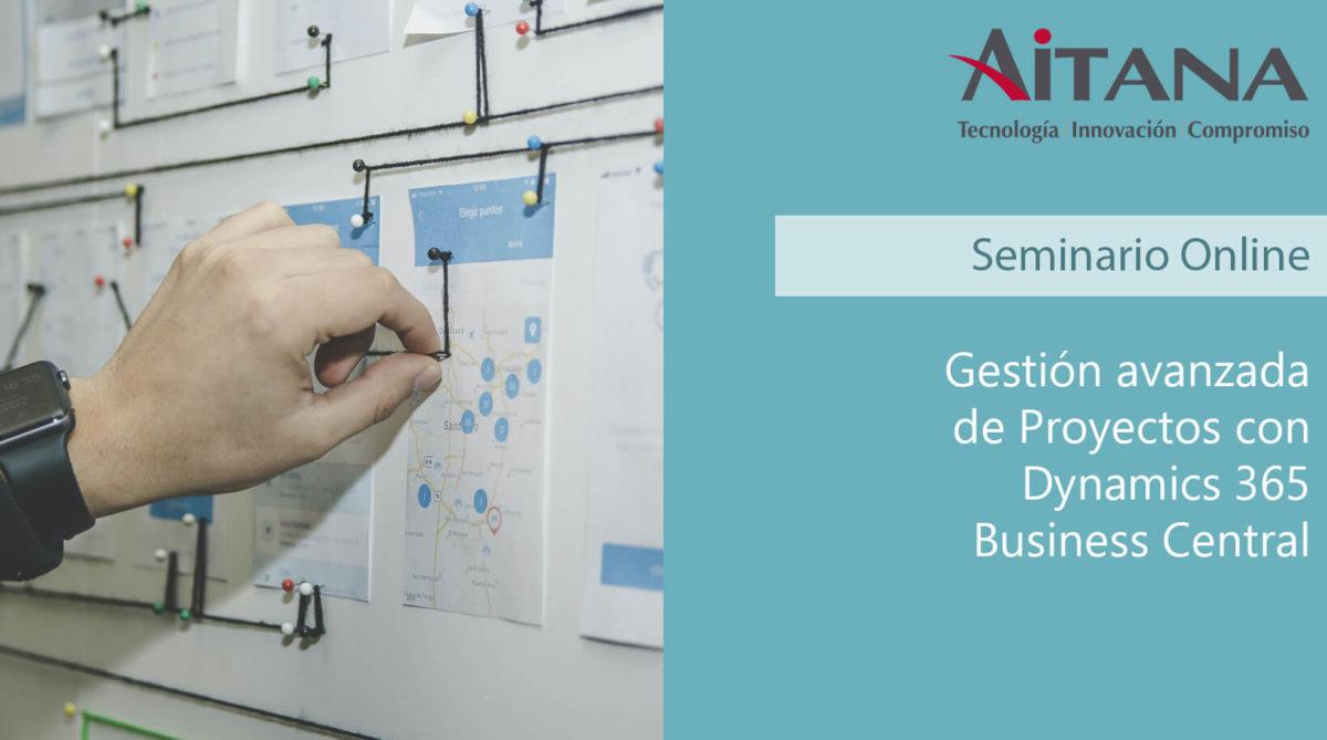 Gestión avanzada de Proyectos con Dynamics 365 Business Central