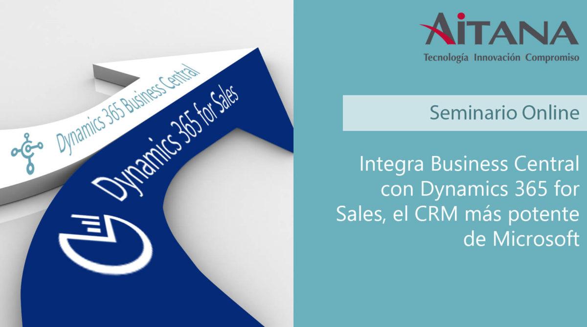 Integra Business Central con Dynamics 365 for Sales, el CRM más potente de Microsoft