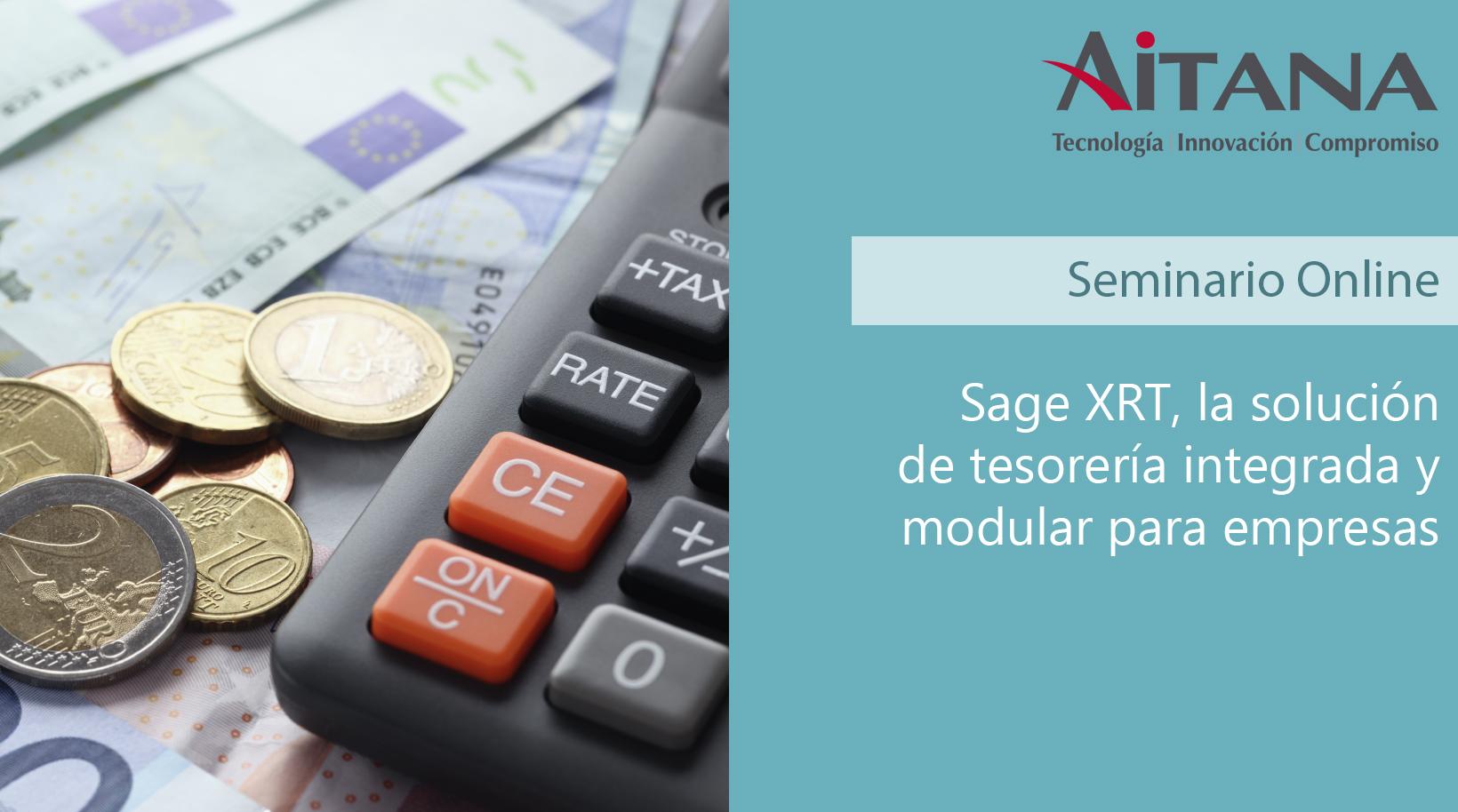 Sage XRT, la solución de tesorería integrada y modular para empresas